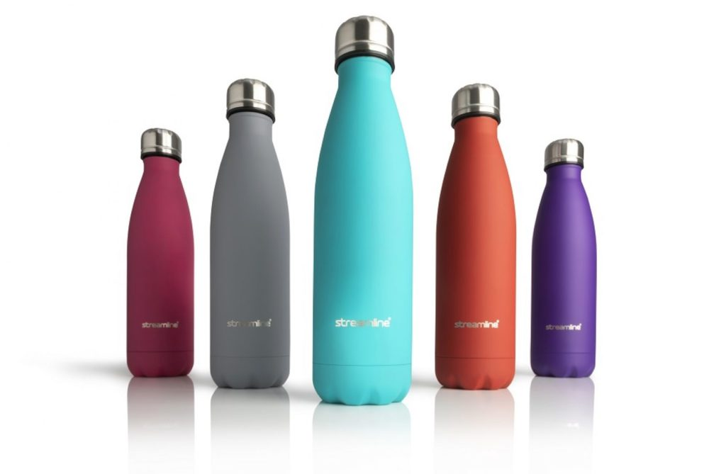 Branded thermal bottles
