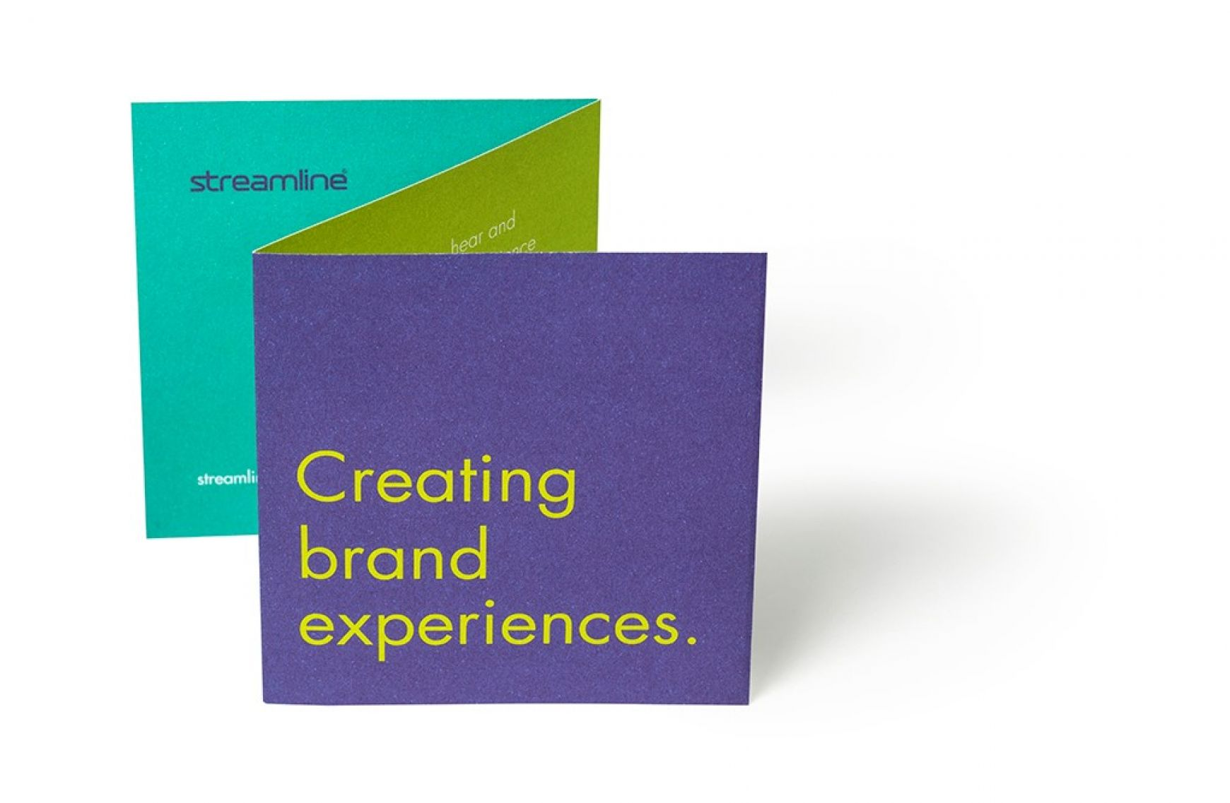 streamline - creating brand experiences