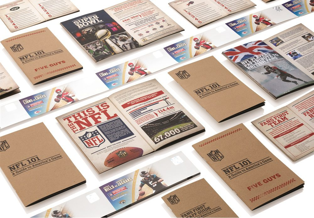 NFL print examples