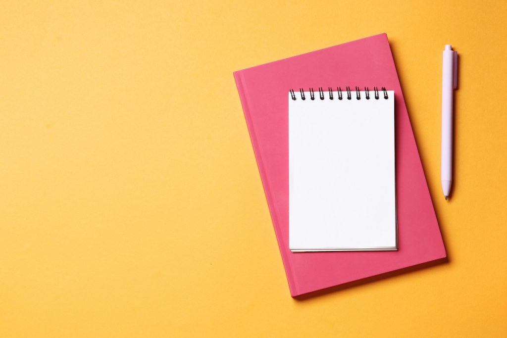 Noteworthy branded notebooks