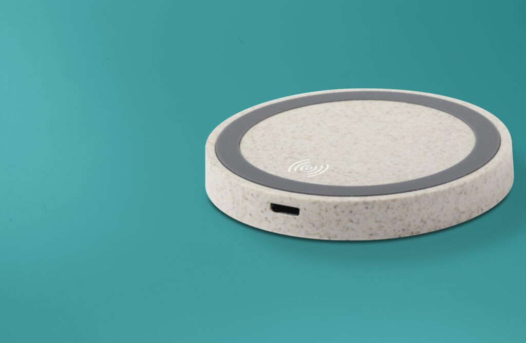 Branded wireless phone charger