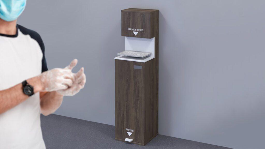 elite sanitising station