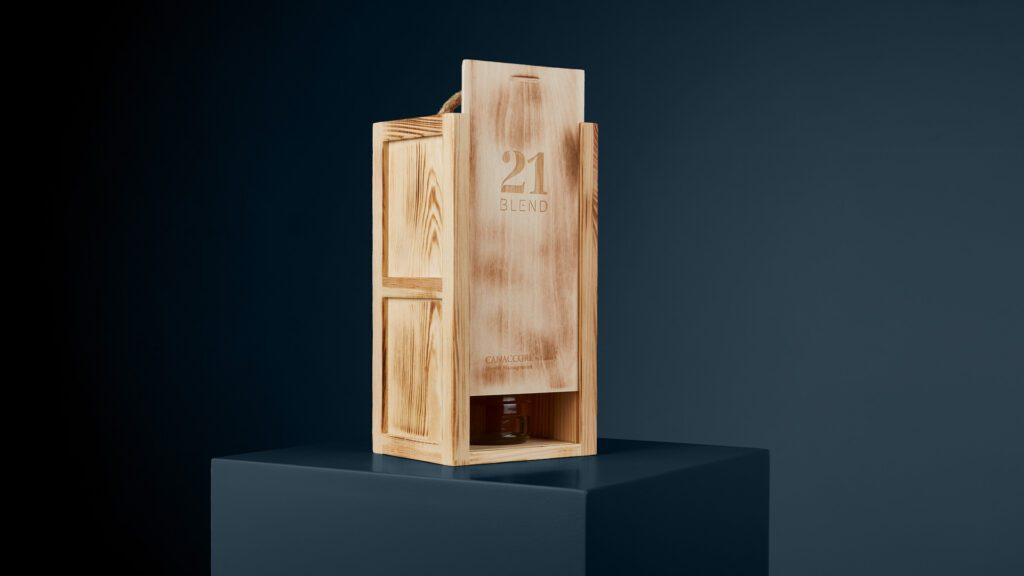 Wooden Presentation Box